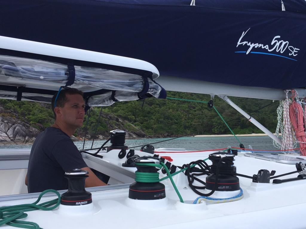 James sailing