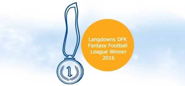 Langdowns Fantasy Football League 2016