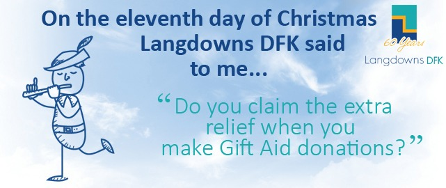 Do you claim the extra relief when you make Gift Aid donations?